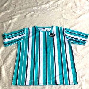 Zaful, women's pullover striped shirt. Sz XXL